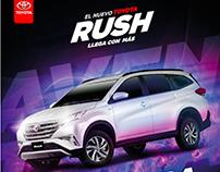 Campaña Lanzamiento del Nuevo Toyota Rush 2018