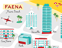Faena Miami Beach Map