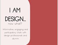 Graphics for I AM DESIGN event