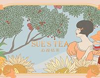 《苏小糖▪ 心悦恬茶》包装设计— 我与自己的悠茶时间