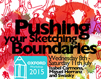 Pushing Your Sketching Boundaries signs series