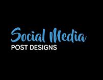 Social Media - Post Designs