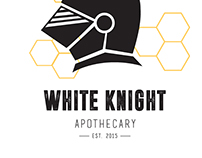 White Knight Apothecary Logo and Branding