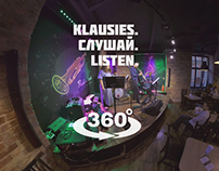 VR video for «klausies.слушай.listen.»