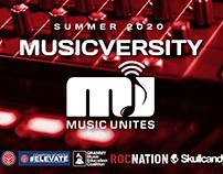 Music Unites: Graphic Design