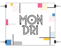 MONDRI font
