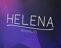 Redesign da Marca Helena Mochilas