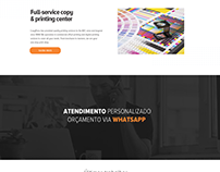 Layout criado para o site Studio27