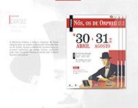 Cartaz de exposição - Nós, os de Orpheu