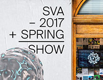 SVA SPRING SHOW—Exhibition Design