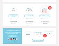 Diseño pantallas web - UX