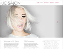 Web Design - UC Salon