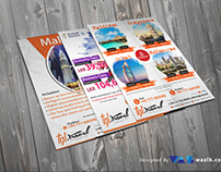 Travels and Tours Flyers for tgl.travel
