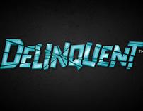 Delinquent logo design