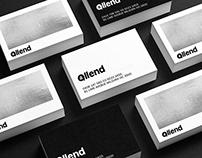 Allend Logo and Branding Design