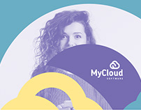 MyCloud Software // Branding and Exhibition Design