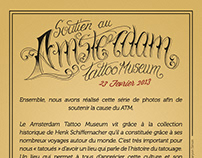 Save the Amsterdam Tattoo Museum - Photos & Interview