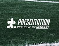 presentation sports - Brand Identity