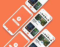 Adventure Activities App Design