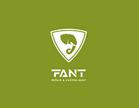 Corporate design for the company Fant Guitars