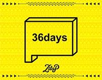 "36 OF TYPE - Zilap Geometrik Font ""Edición Especial"""