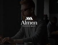 Almen Logo Design