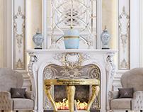 Luxury Palace Hall Interior