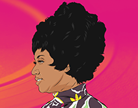 Aretha Franklin Digi-stration™