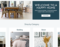 Home & Decor Landing Page