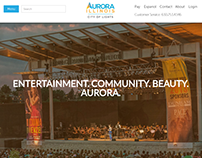 City Website—Aurora, IL