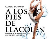 Afiche Cumbre de Danza