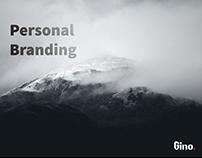"""Gino logo """"Personal Branding"""""""