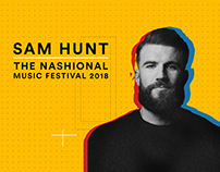 Sam Hunt's - The Nashional Music Festival