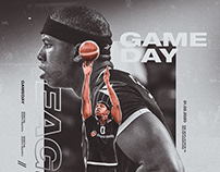 Gameday design Besiktas Basketball