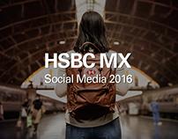 HSBC MX social Media 2016