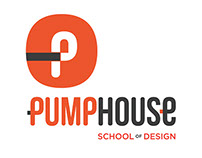 Pumphouse School of Design logo