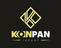 Konpan İnşaat Logo & Kurumsal - 2017, K Letter
