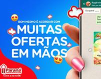 Paraná Supermercados | Anúncios para WhatsApp