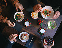 CasaLolea Christmas Table