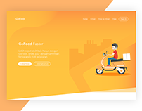 GoFood Landing Page