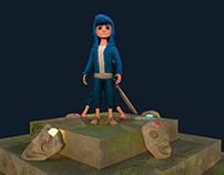 3D Character Design for games