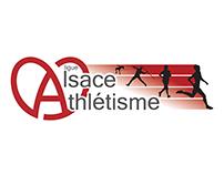 Nouveau Logo Ligue d'Alsace d'Athlétisme 2013