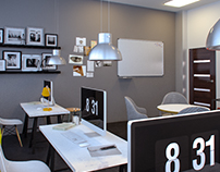 Industrial Boutique Design Studio Office