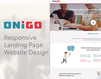 ONiGO App: Website Design