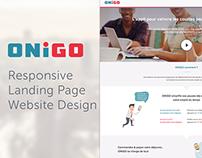 ONiGO App: Website Design