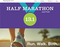 Half Marathon Website