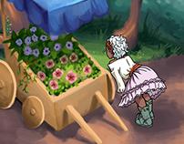 The Florist's Cart