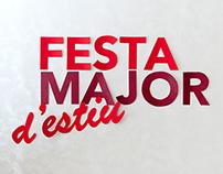 """DISEÑO GRÁFICO """"Cartel fiesta mayor 2015 Santa Coloma"""""""