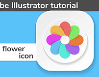 iOS icon designAdobe Illustrator tutorial