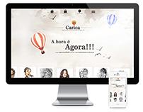 WebSite Caricaturas Ricardo